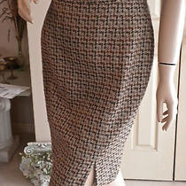 Beautiful Burberrys Tweed Skirt Burberry Photo