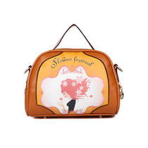 Beautiful Cartoon Printing Totes Landscape Sweet Shoulder Bags Cross Body Women Photo