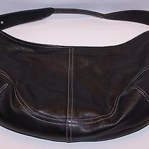 Beautiful Coach Gently Used Leather Hobo Purse Photo
