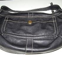 Beautiful Coach Hobo Sling Pocket Tote Purse Photo