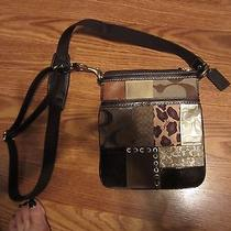 Beautiful Coach Patchwork Crossbody Photo