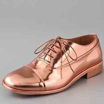 Beautiful Copper Spazzolato Oxfords Martin Margiela Beauties in 7.5 37.5 Photo