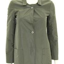 Beautiful Designer Jil Sander Ladies Green Taffeta Blazer Jacket 34  Italy  Photo