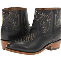Beautiful Dolce Vita Camilla Black Leather Cowboy Western Ankle Boots 8 Newbox Photo