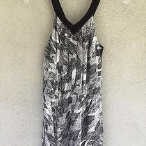 Beautiful Element Black & White Summer Tribal Dress Women's Size Small Photo