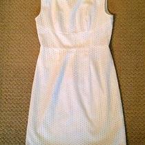 Beautiful Elie Tahari White Dress Sz 4 Photo