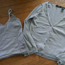 Beautiful Express Tank and Sweater Set Euc M/l Wow Cute Spring Set  Photo
