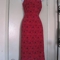 Beautiful Floral Spaghetti Strap Dress  Made by Express Size 13/14 Photo