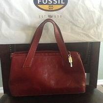 Beautiful Fossil Leather Handbag Photo
