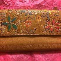 Beautiful Fossil Leather Women's Checkbook Wallet Photo