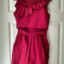 Beautiful Funky Never Worn Red Valentino Dress Photo
