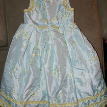 Beautiful Girls Sz 5 Marmellate Formal Dressy Aqua/green Occasion Dress Photo