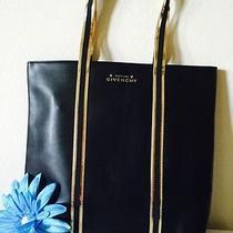 Beautiful Givenchy Parfums Women Black Weekender Tote Bag Travel Purse Handbag . Photo