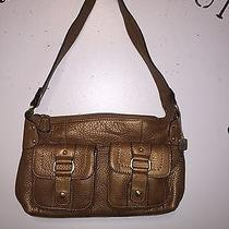 Beautiful Gold Fossil Handbag Photo