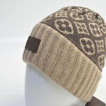 Beautiful Goods Louis Vuitton Knit Hat Cap Bonnet Ski Monogram Photo