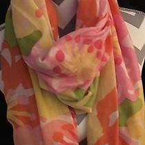 Beautiful Great Condition Bright Colors Lilly Pulitzer Scarf  Photo