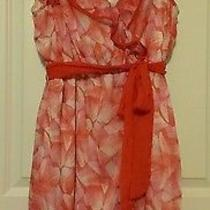 Beautiful h&m Ruffled Dress Size 14 Photo