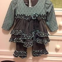 Beautiful Isobella & Chloe Girls Boutique Outfit Size 12m Beautiful Outfit Photo