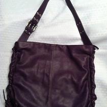 Beautiful Italian Leather Butter Soft Grape  Nuovedive Hobo Bag Beautiful Photo