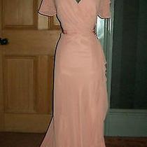 Beautiful Jenny Packham Long Blush Pink Evening Dress Size 14 Photo