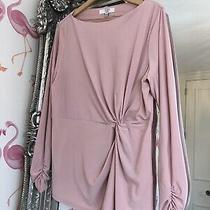 Beautiful Joanna Hope Blush Ballet Pink Knot Waist Detail Stretch Top 16  Photo