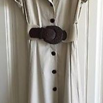 Beautiful Khaki Liz Claiborne Dress Sz 12 Photo
