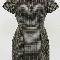 Beautiful Ladies Designer Burberry Plaid Dress 8  Photo