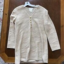 Beautiful Ladies Escada New Wool Pullover Gold Button Accents Photo