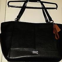 Beautiful Leather Coach Handbag  Photo