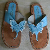 Beautiful Leather Kid Express Butterfly Sandals Size 33 Euc Photo