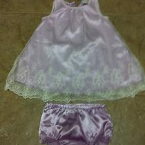 Beautiful Lilac Baby Gap Dress Sz 12-18 Months Photo