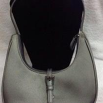 Beautiful Liz Claiborne Zippered Wrist(clutch) Small Purse Silver Photo
