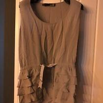 Beautiful Love Moschino Grey Vest Top Size Uk 8 Photo