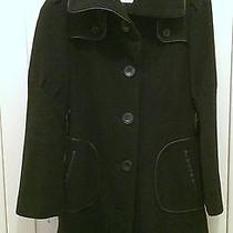 Beautiful Mackage Winter Coat Leather Wool Size 6 Winter Warm Like New Photo