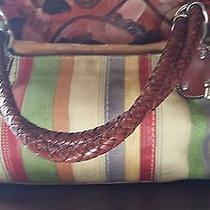 Beautiful Multi Color Fossil Shoulder Bag All Leather Price Reduced  Photo
