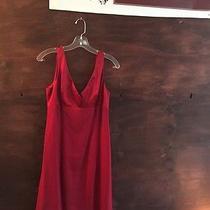 Beautiful Nanette Lepore Red Dress Size 8 Photo