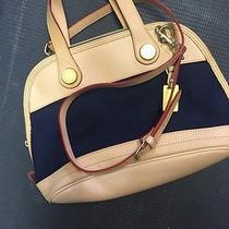 Beautiful Navy Blue Handbag Photo