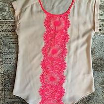 Beautiful Neon Lace Shirt From Express Photo