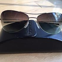 Beautiful Oliver Peoples Aviator Sunglasses With Original Case Barely Worn Photo