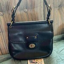 Beautiful Original Coach Legacy Willis in Black Soft Glove Tanned Leather Photo