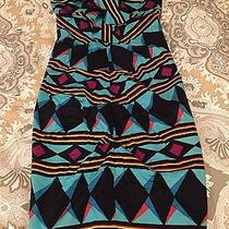 Beautiful Pattern Nicole Miller Dress Size 0 Photo