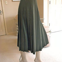 Beautiful Pristine Burberry Pleated Skirt  Photo