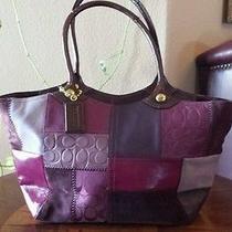 Beautiful Rare Coach Handbag Photo