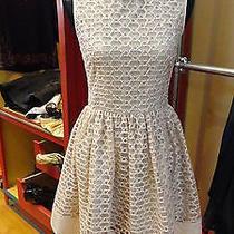 Beautiful Red Valentino Blush Lace Sleeveless Dress - Eur 42 - So Pretty Photo