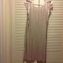 Beautiful Sexy Shiny Gold Bcbg Size Large Dress Beautiful Photo