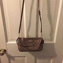 Beautiful Signature Coach Hand Bag Photo