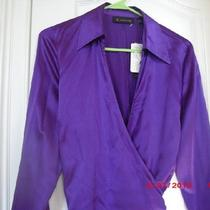 Beautiful   Silk Blouse  Size 12 Photo