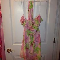 Beautiful Silk Lilly Pulitzer Dress Sz Xs Photo