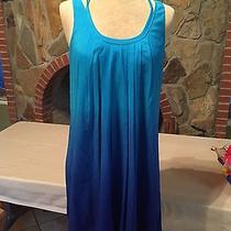 Beautiful Small Blue Ombre Express Summer Dress With Bubble Hem Photo