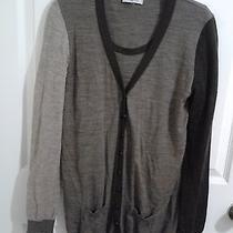 Beautiful Sonia Rykiel Cardigan Sweater Blouse Set